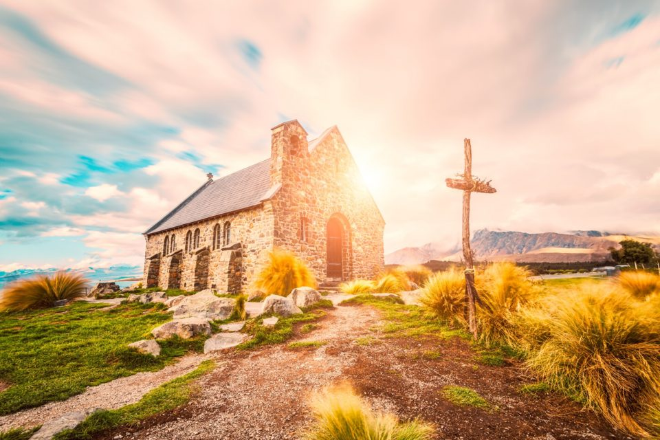 The Church of the Good Shepherd, Lake Tekapo, New Zealand nice photo